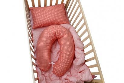 Подушка для беременных и кормящих банан ZASTELLI со съемным хлопковым чехлом фото 2