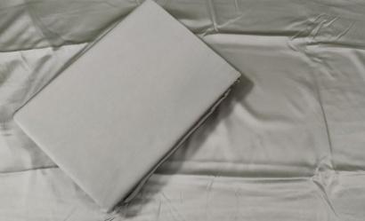 Постільна білизна Zastelli Gainsboro шовк сiрий фото 4