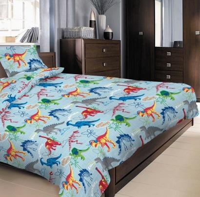 Детское постельное белье с Динозавриками Zastelli фото