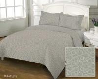 Комплект постельного белья Zastelli Bubble-Grey хлопок