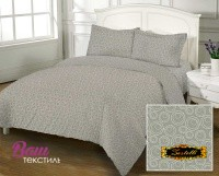 Bed linen set Zastelli Bubble Grey Cotton фото