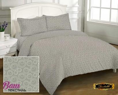 Bed linen set Zastelli Bubble Grey Cotton фото