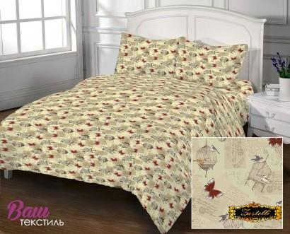 Bed linen set Zastelli 105 Post Card Cotton фото