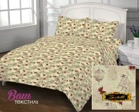 Bed linen set Zastelli 105 Post Card Cotton фото