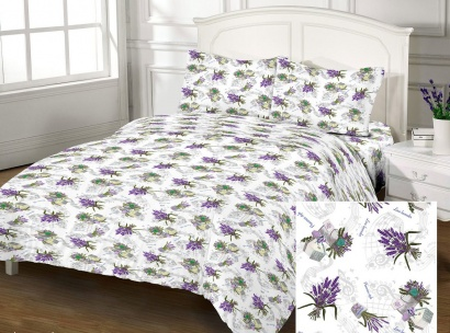 Bed linen set Zastelli Lavander Cotton фото 2