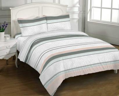 Bed linen set Zastelli 2847 Grey Cotton фото 2