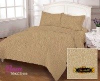 Bed linen set Zastelli Bubble Beige Cotton фото