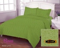 Bed linen set Zastelli Bubble Green Cotton