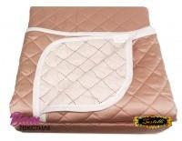 Silk Bedspread Zastelli Peach фото