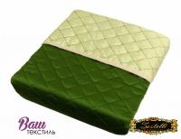 Зеленое шелковое покрывало Zastelli