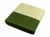 Покривало шовкове зелене ZASTELLI фото