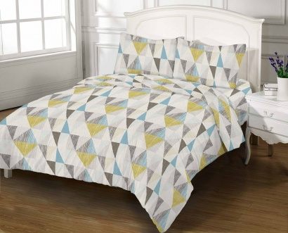 Bed linen set Zastelli 5410 Cotton Gold USA фото 3