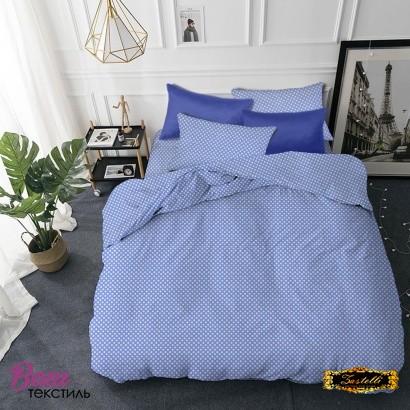 Детское постельное белье Zastelli 26 Горошек на голубом бязь  фото