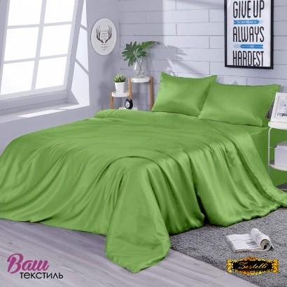 Постільна білизна Zastelli Pear шовк зелений фото