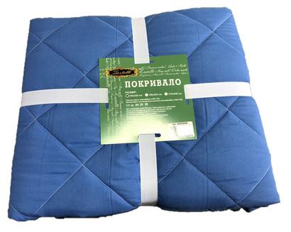 Two-sided bedspread Zastelli Blue-White фото 2