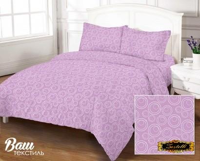 Bed linen set ZASTELLI Bubble Lavander Cotton Gold USA фото 4