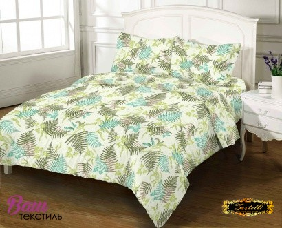 Bed linen set ZASTELLI 10577 Cotton Gold USA фото 5
