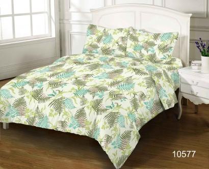 Bed linen set ZASTELLI 10577 Cotton Gold USA фото 4