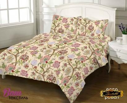 Bed linen set ZASTELLI 8650 Cotton Gold USA фото 4