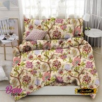 Bed linen set ZASTELLI 8650 Cotton Gold USA