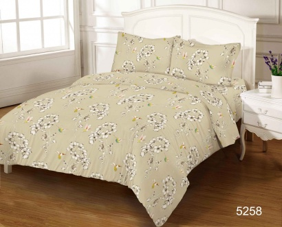 Bed linen set ZASTELLI 5258 Cotton Gold USA фото 4
