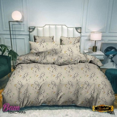 Bed linen set ZASTELLI 5258 Cotton Gold USA фото