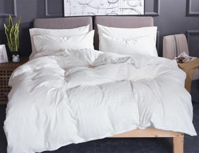 Постільна білизна Zastelli 74 сірий горох на білому поплiн фото 3
