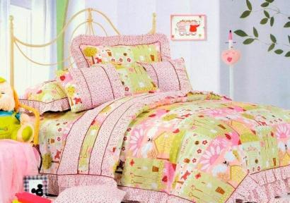 Детское постельное белье Word of Dream HBK 015 Рюши Сатин фото 3