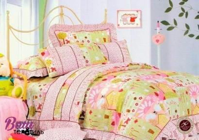 Детское постельное белье Word of Dream HBK 015 Рюши Сатин фото