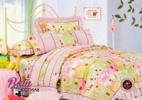 Bed linen set for children Word of Dream HBK 015 Sateen фото