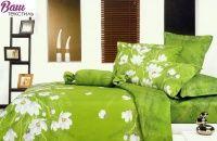 Комплект дизайнерского постельного белья Word of Dream H174 Домашний сад Сатин