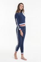 Комплект (кофта+брюки) Yoors Star Y2019AW0098 синий фото