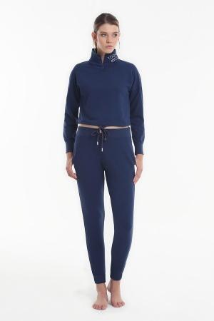Комплект (водолазка+брюки) Yoors Star Y2019AW0121 Blue фото
