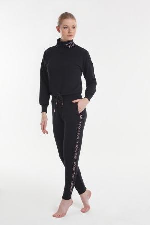 Set (turtleneck + pants) Yoors Star Y2019AW0121 Black фото