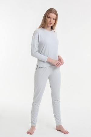 Женская пижама Yoors Star Y2019AW0081 серый фото