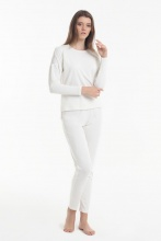 Women's pajamas Yoors Star Y2019AW0081 White			 фото