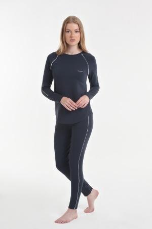 Женская пижама Yoors Star Y2019AW0126 антрацит фото