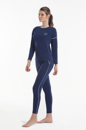 Женская пижама Yoors Star Y2019AW0127 синий фото