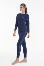 Women's pajamas Yoors Star Y2019AW0127 Blue			 фото