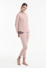 Women's pajamas Yoors Star Y2019AW0128 Powder			 фото
