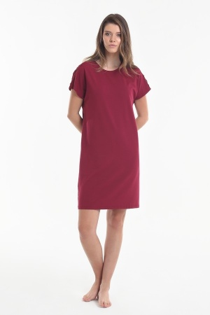 Nightdress Yoors Star Y2019AW0056 Red			 фото