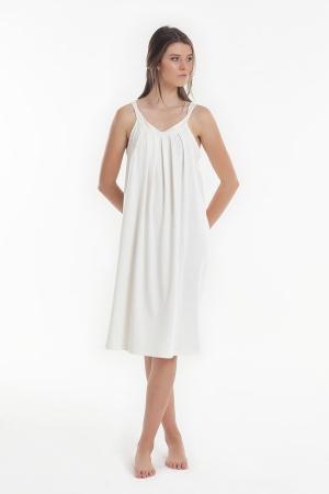 Ночная рубашка Yoors Star Y2019AW0123 белая фото