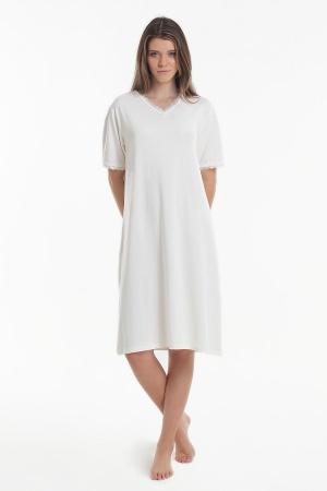 Нічна рубашка Yoors Star Y2019AW0113 біла фото 2