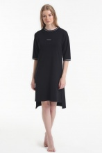 Ночная рубашка Yoors Star Y2019AW0059 черная фото