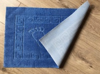 Bath mat Vende rubbered Foot Blue			 фото