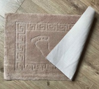 Bath mat Vende rubbered Foot Beige			 фото