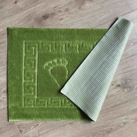 Bath mat Vende rubbered Foot Light Green			 фото