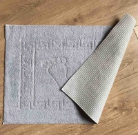Bath mat Vende rubbered Foot Grey фото