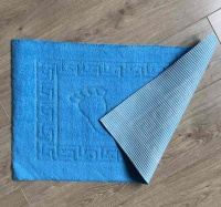 Bath mat Vende rubbered Foot Turquoise			 фото