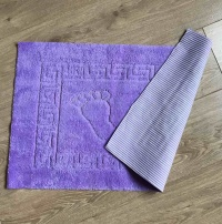 Bath mat Vende rubbered Foot Lilac			 фото